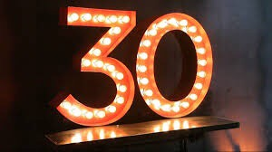 30 things to expect in your 30s
