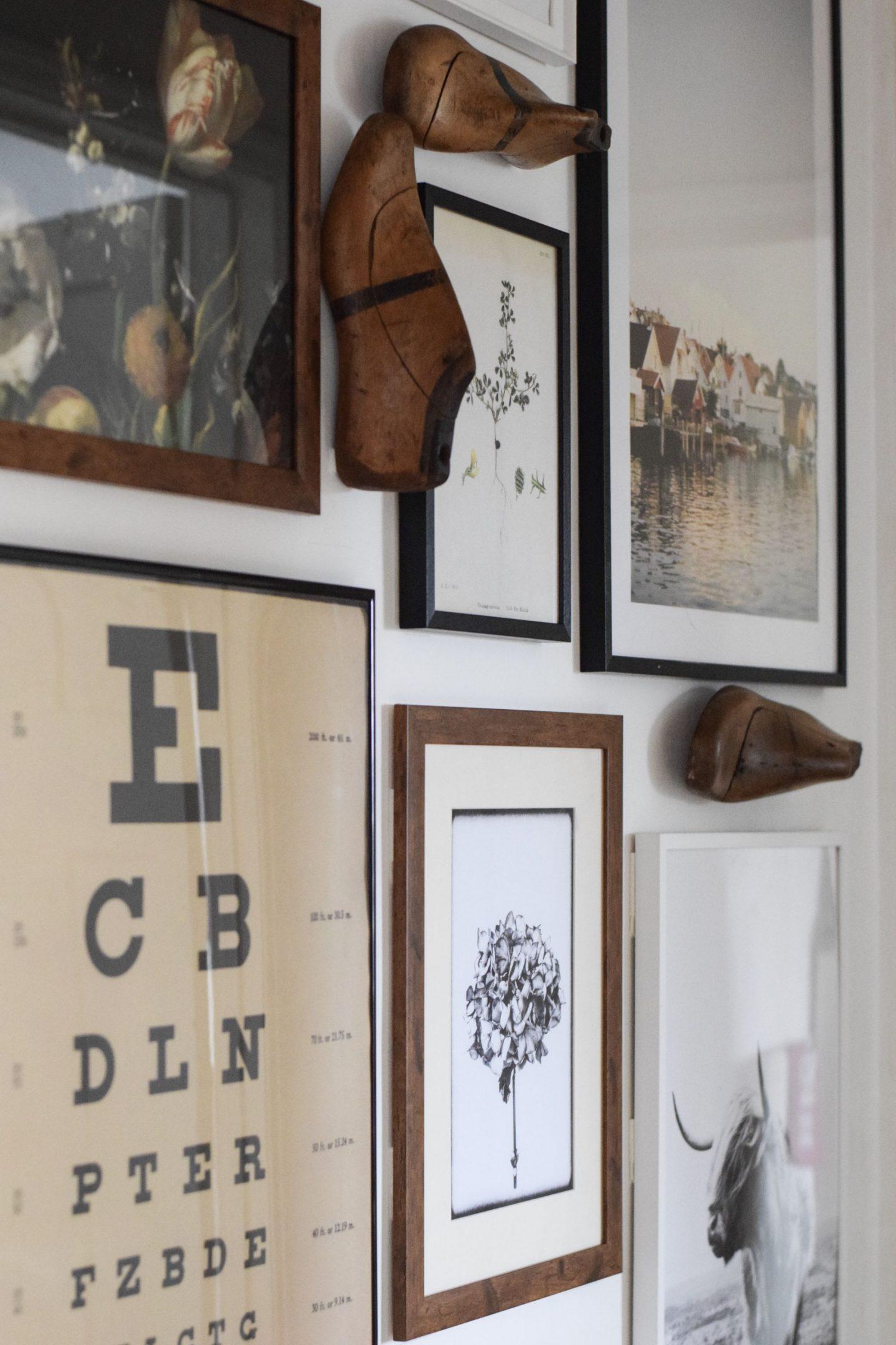 Gallery walls…