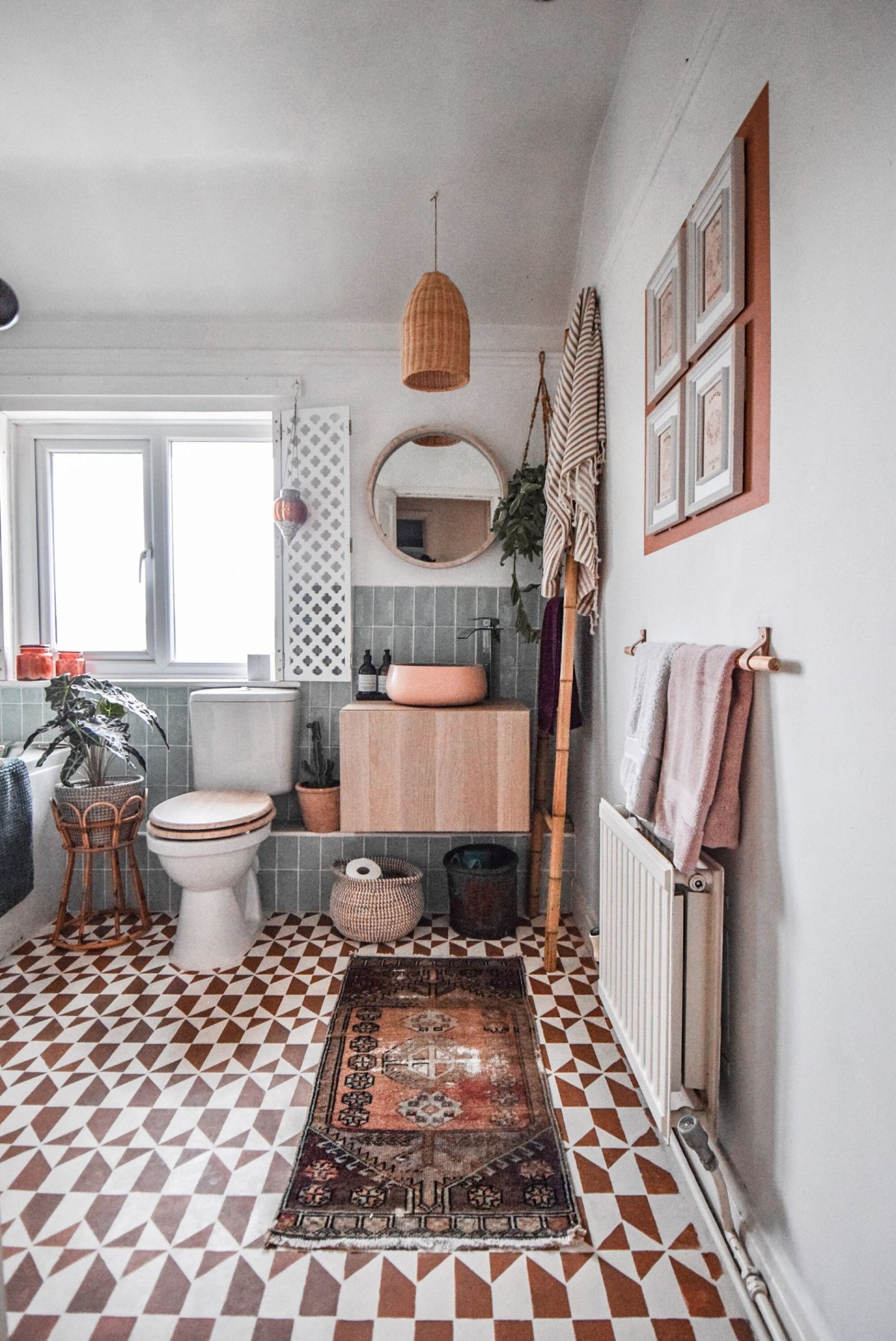 My bathroom revamp…