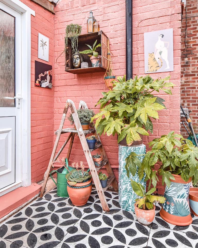 My patio makeover…